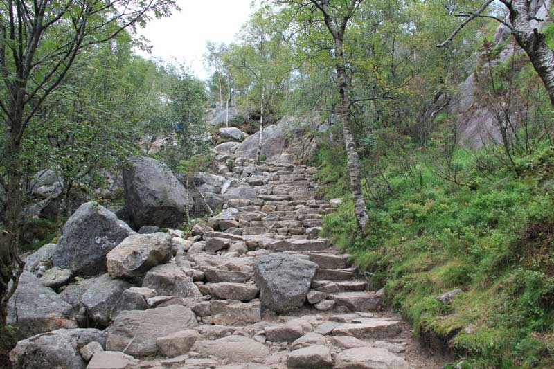 Ein steiniger Weg