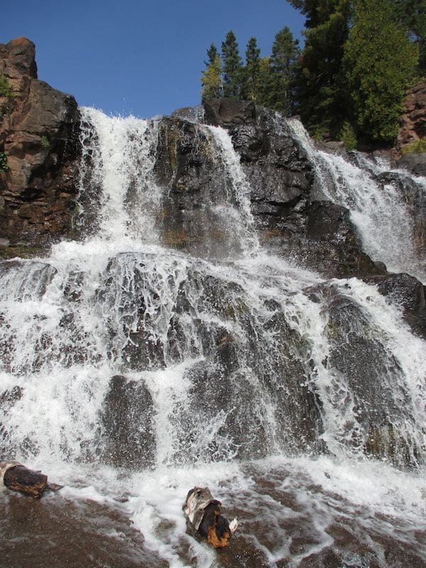 Middle Falls im Gooseberry Falls State Park