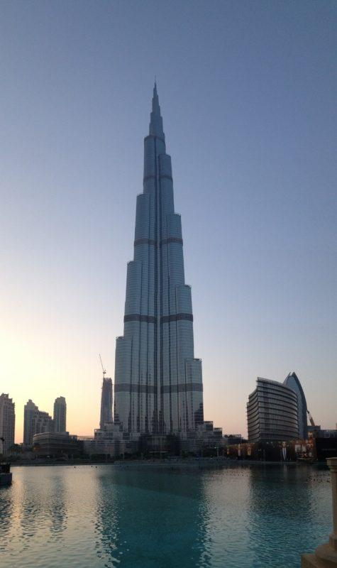Burh Khalifa in Dubai