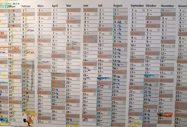 Ein Zeitplan ist genauso wichtig wie sein Ziel zu kennen
