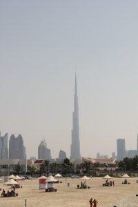 Dubai Strand Burj Khalifa