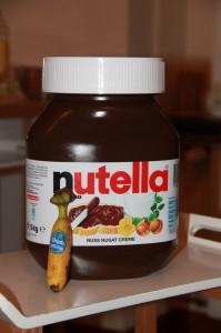 Nutella für 30 Teilnehmer