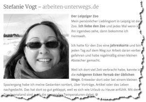 Kurzer Beitrag über Lieblingsorte in Leipzig bei Healthy Habits
