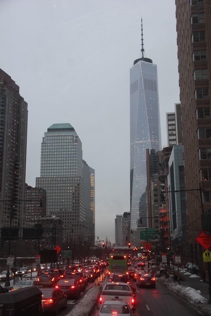 New York in der Dämmerung