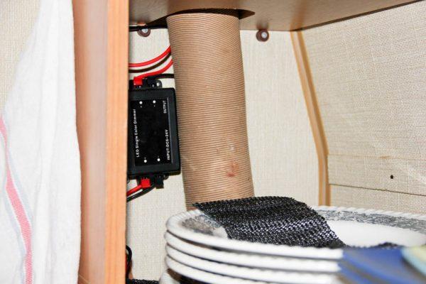 LED-Leiste fernbedienbar im Schrank montierter Regler