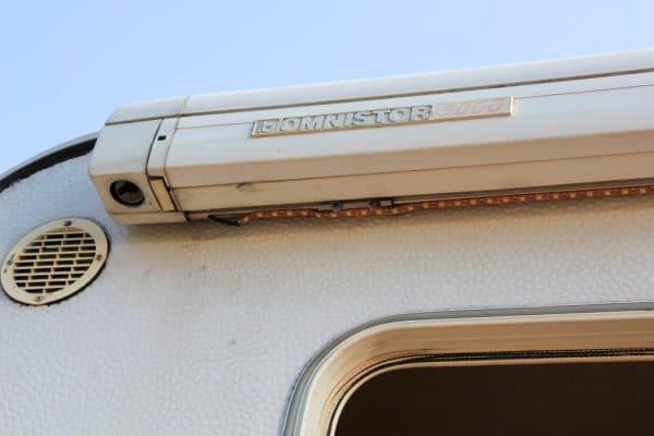 LED-Leiste am Wohnmobil Detailansicht