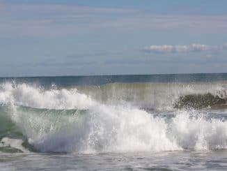 Wellen im Meer