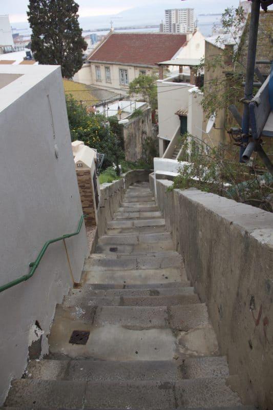 Castle Steps in Gibraltar