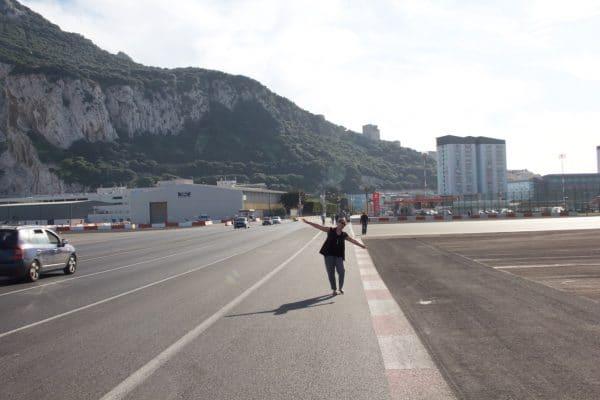 Rollfeld in Gibraltar